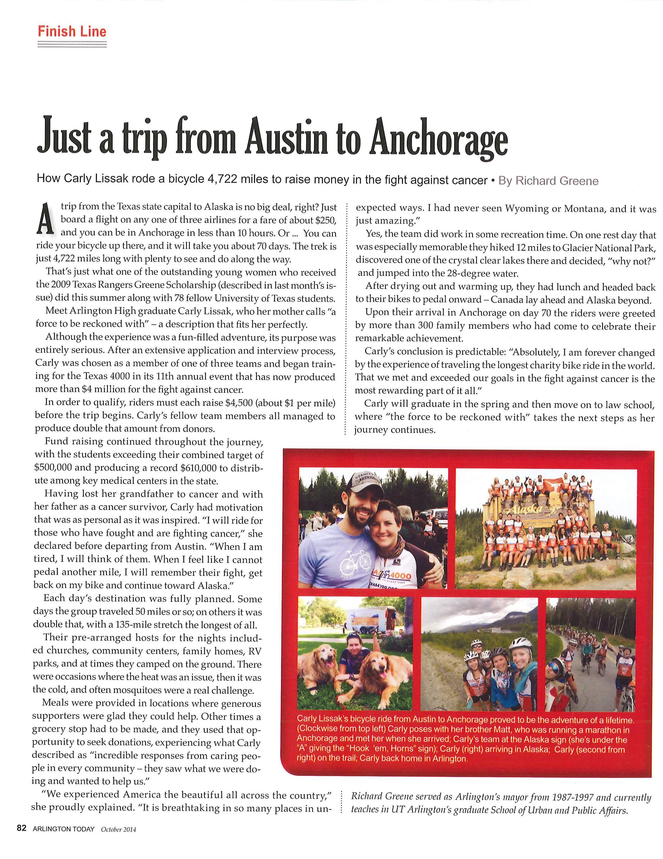 Arlington Article