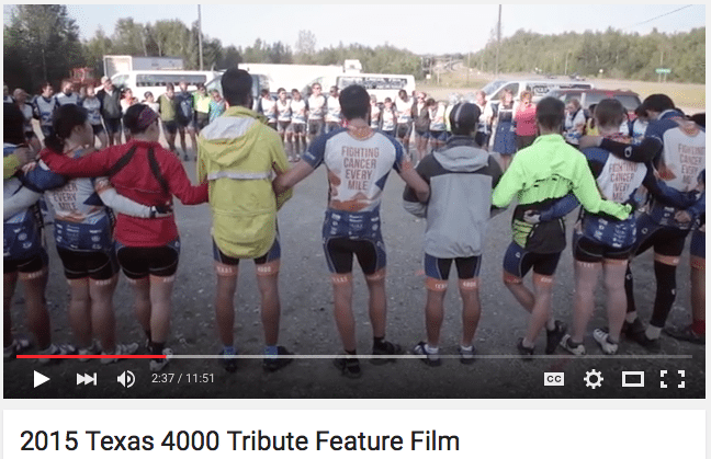 2015 Tribute Feature Video