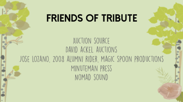 Tribute 2015 Friends
